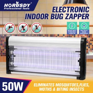 Insect Killer Pest Fly Mosquito Bug Electric Zapper Catcher Trap Alloy 20 30 50W