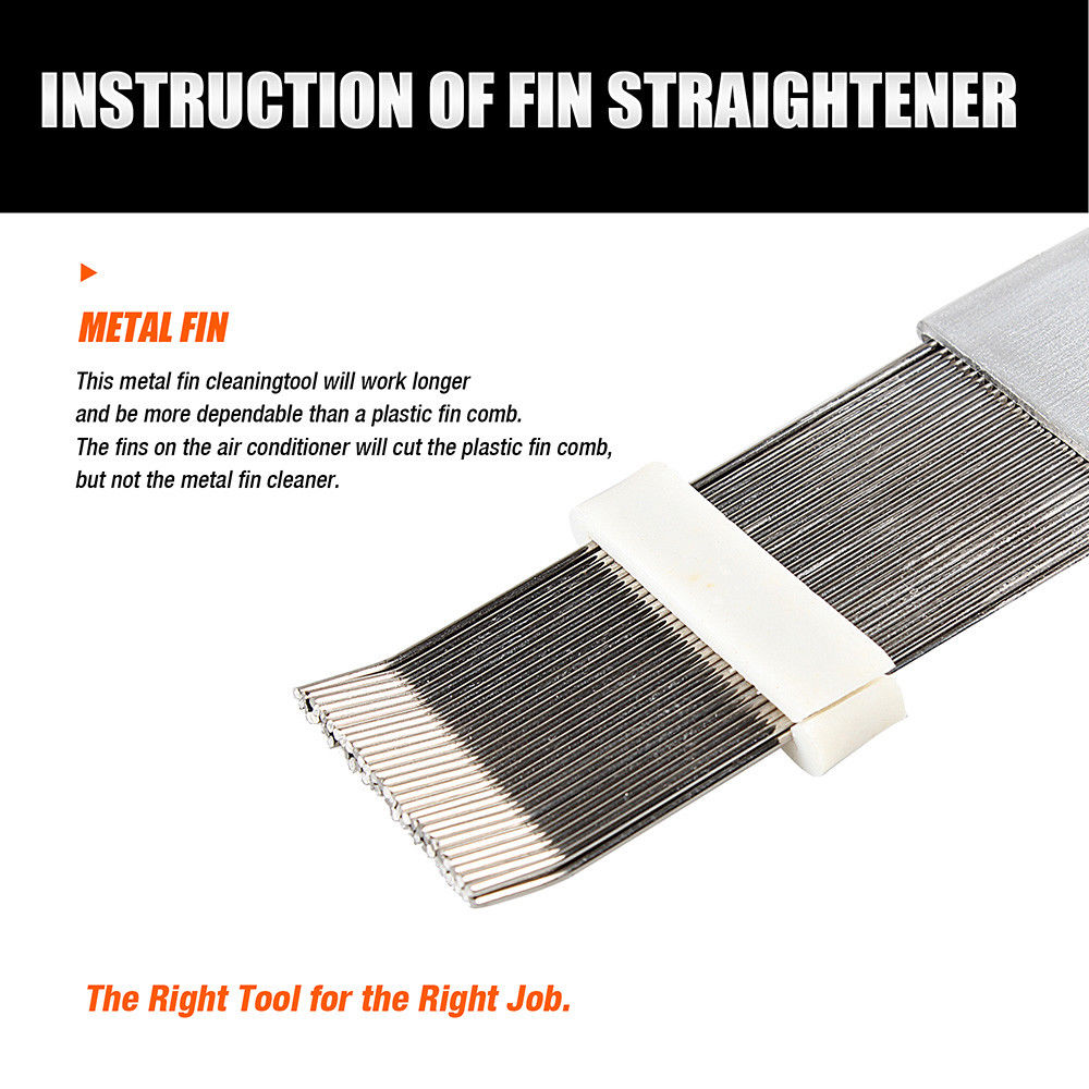 fin straightener comb air conditioner cleaning blade