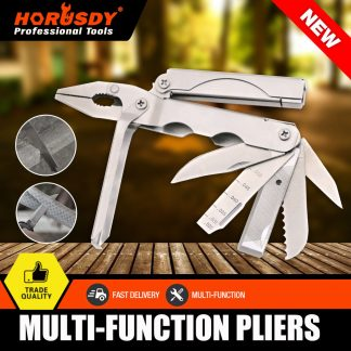 Multi Tool Plier Pocket Knife Folding Camping Hex Wrench File Survival Hand Tool