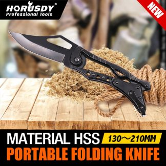 6 9 Folding Knife Pocket Sharp blade Camping Tactical Survival Hunting Bowie