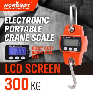 Mini Crane Scale Portable LCD Digital Electronic Hook Hanging Scale 300kg 0.1kg