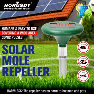 Garden Ultrasonic Solar Repeller Snake Pest Rodent Repellent Multi Pulse Plus