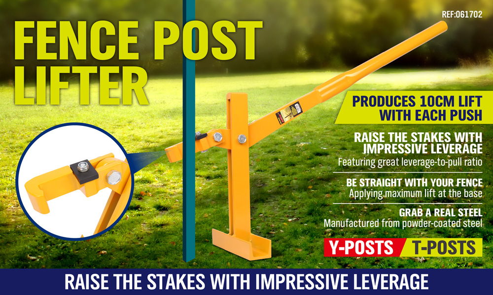 Fence Post Lifter Puller Remover Star Picket Steel Pole Fencing Pole Tool NEW