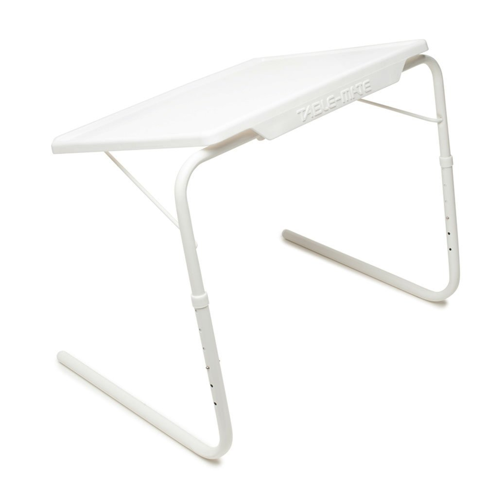 Table Mate Adjustable 3 Angles Folding Table Large Tray