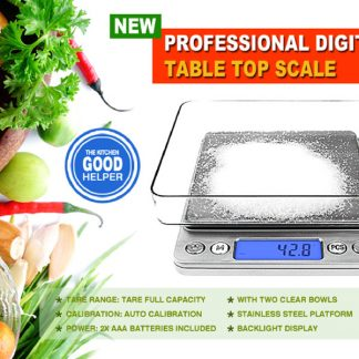 Kitchen Digital Scale LCD Electronic 3kg0.1g Balance Food Weight Postal Scales