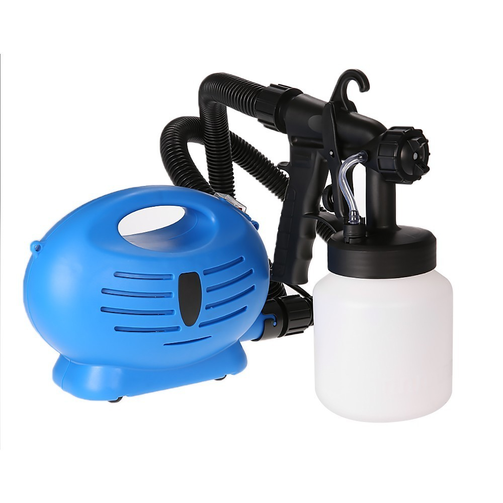 electric paint sprayer fence spray zoom gun diy tool. Black Bedroom Furniture Sets. Home Design Ideas