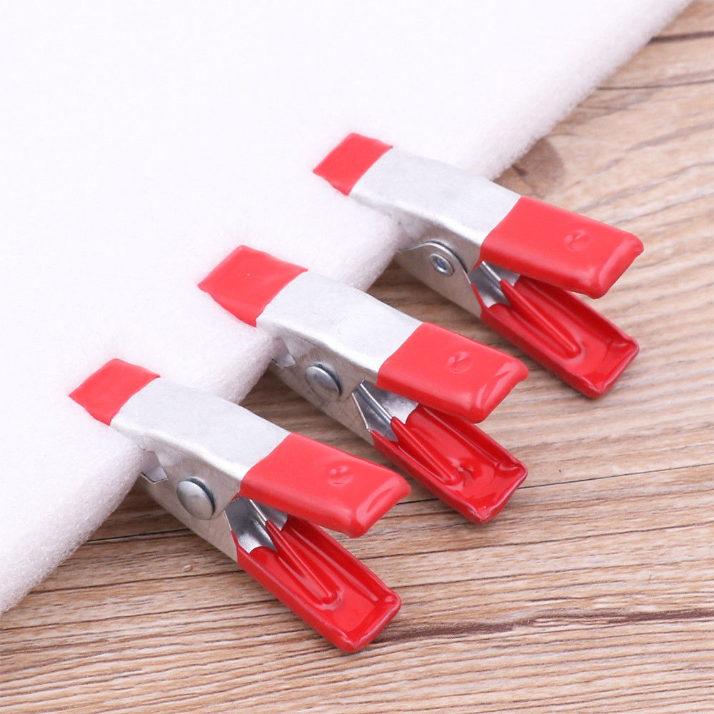 Insulated Coated Metal Spring Clip Clamp