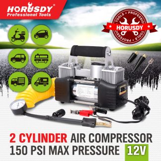 12V Car Air Compressor 4x4 Tyre Deflator 4WD Inflator Portable 150PSI 85Lmin