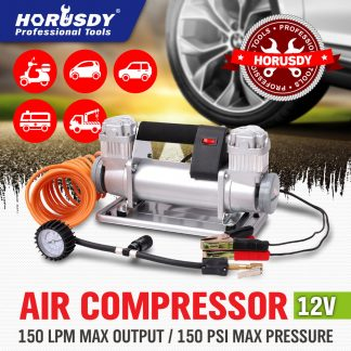 12V Car Air Compressor 4x4 Tyre Deflator 4WD Inflato Portable 150PSI 150L/M