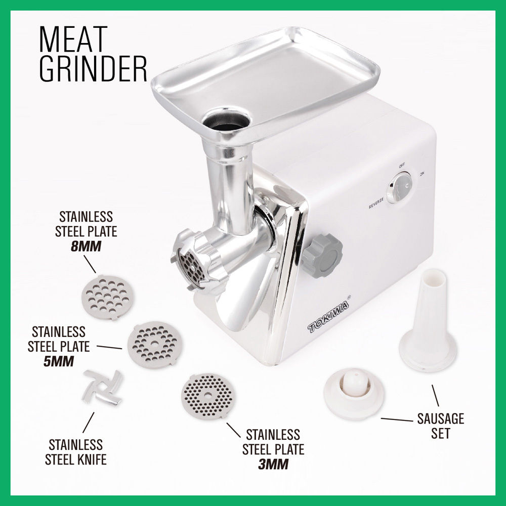New Electric Meat Grinder Electric Commercial Mincer Sausage Filler Kebbe Maker