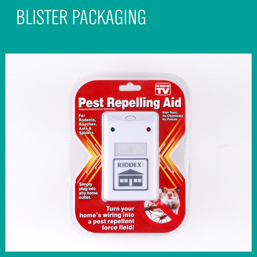 3 X RIDDEX Plus Electronic Ultrasonic Pest Control, Repeller, Spiders Rats Mice