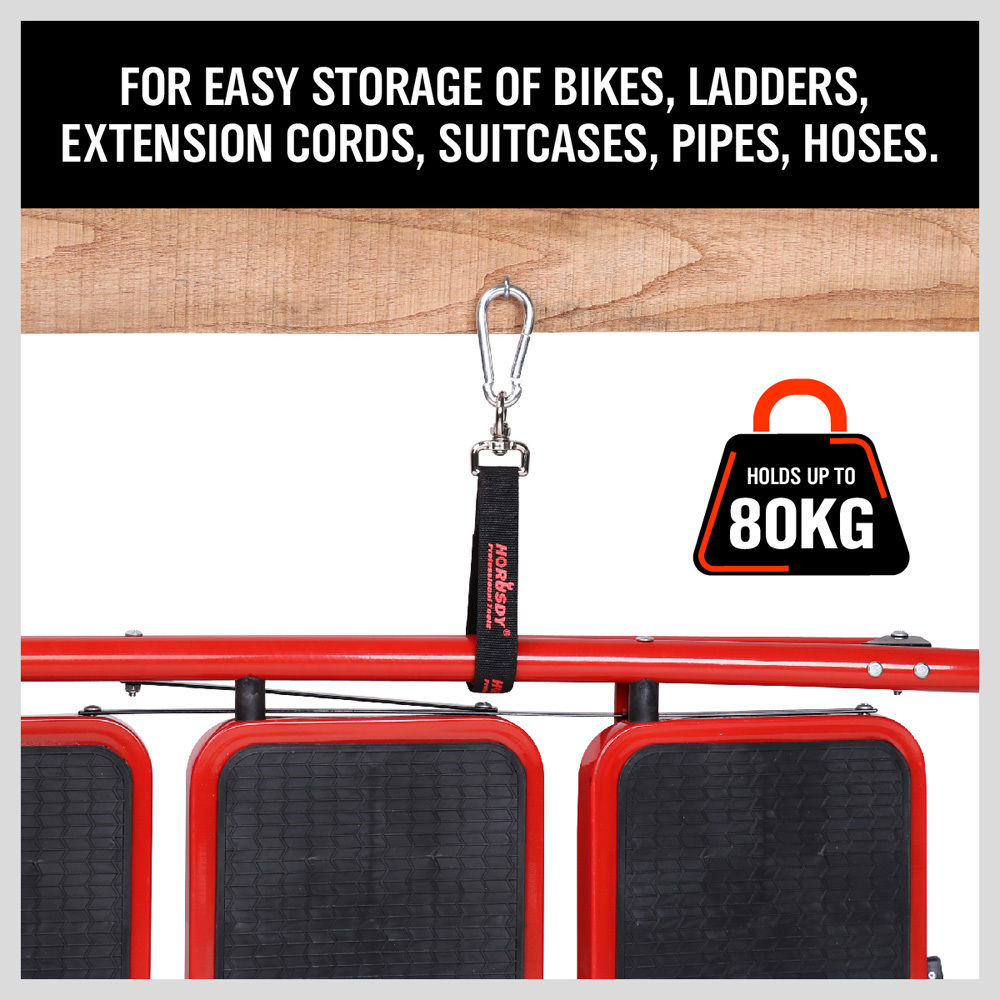 80KG Capacity Easy Hand strap with hook High Quality Lock Quick Release Hook