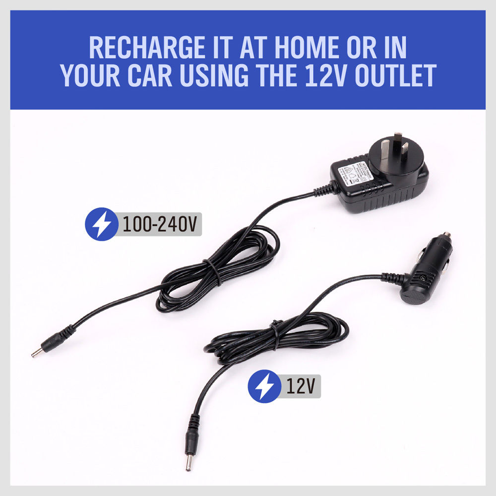 Emergency Battery Charger & Jump Start 12V Vehicle Portable Power Bank Car 4WD