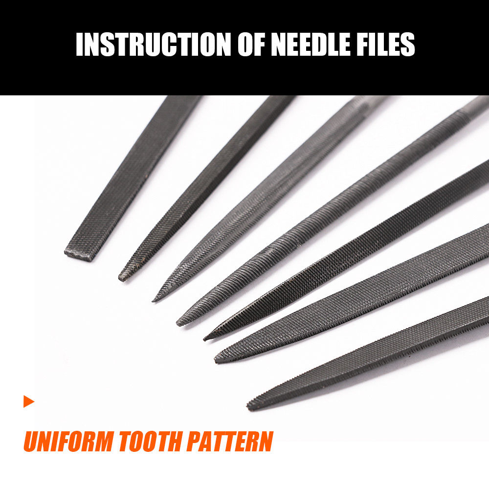 10 Piece Diamond Mini Needle File Set Metal Craft Rasp