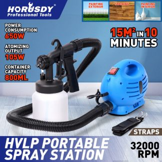 Electric Paint Sprayer Gun Painting Machine 650W Portable Spray Station