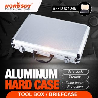 Aluminium Framed Carry Case Portable Gun Storage Handy Box Sliver