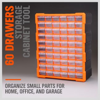 60 Drawers Storage Cabinet Tool Box Bin Chest Case Organiser