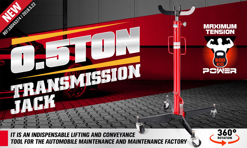 500kg Hydraulic Transmission Jack Stand Gearbox High Lifter Hoist Lift