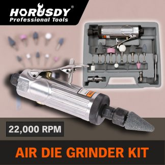 15-Piece Air Die Grinder Set Pneumatic Stone Rotary Angle Kit