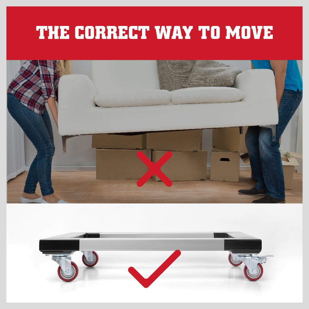 Heavy Duty Furniture Dolly 350kg Movers Removalist Dolly