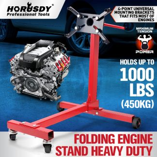 Engine Stand 450kg / 1000lb Cars Auto Motor Crane Workshop Hoist